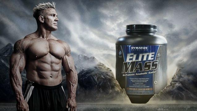 Mass gainer protein results range