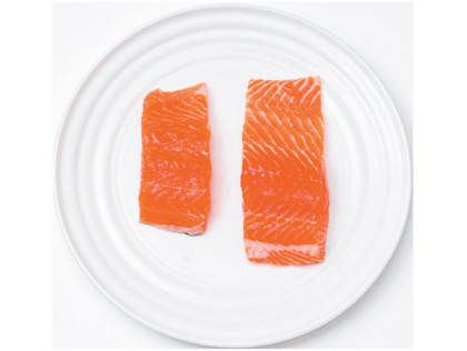 What should a portion size look like north adelaide for Serving size of fish