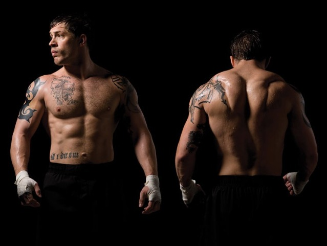 "Tom Hardy workouts: A contrast for ""the warrior"" and ""dark ..."